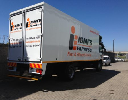 Truck Signage Cape Town